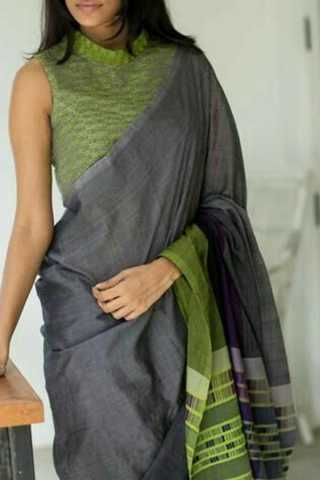 Demanding Multi Colored Soft Silk Fancy Partywear Functional Saree - CD201 30""