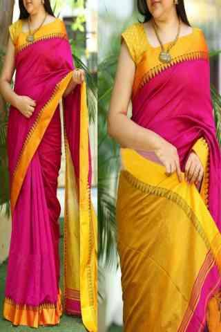 Modish Multi Color Soft Silk Saree - cnd757