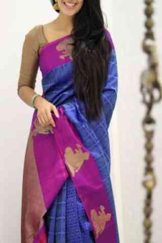 Dynammic Multi Color Soft Silk Designer Sarees - cnd976