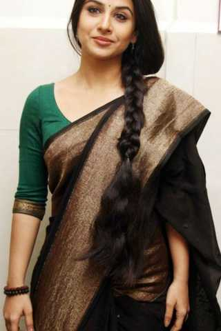 Adorable Black Colored Soft Silk Fancy Partywear Functional Saree - CD209  30""