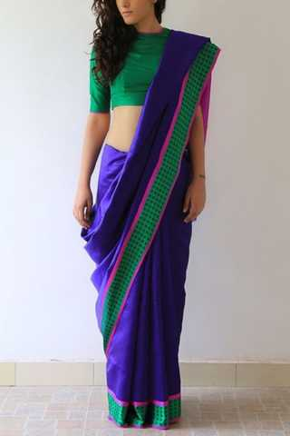 """Appealing Blue Colored Soft Silk Fancy Partywear Functional Saree - CD229  30"""""""