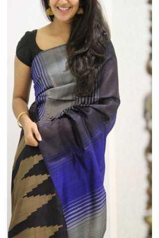 "Modish Multi Color Soft Silk Designer Sarees - SB1197  30"""