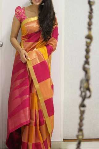 "Modish Multi Color Soft Silk Designer Sarees - SB1316  30"""