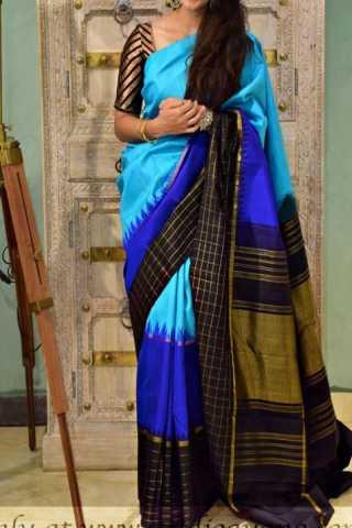 """Classic Multi Color Soft Silk Designer Sarees - SB1329  30"""""""