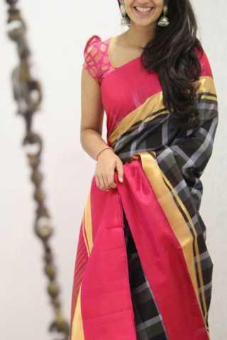 """Classic Multi Color Soft Silk Designer Sarees - SB1331  30"""""""