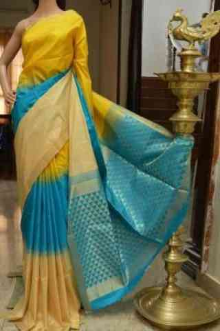 "Beautiful Multicolor Color Soft Silk Designer Sarees - SB704  30"""