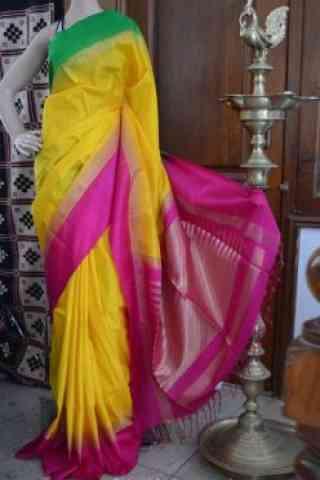 """Pretty Multicolor Color Soft Silk Designer Sarees - SB710  30"""""""