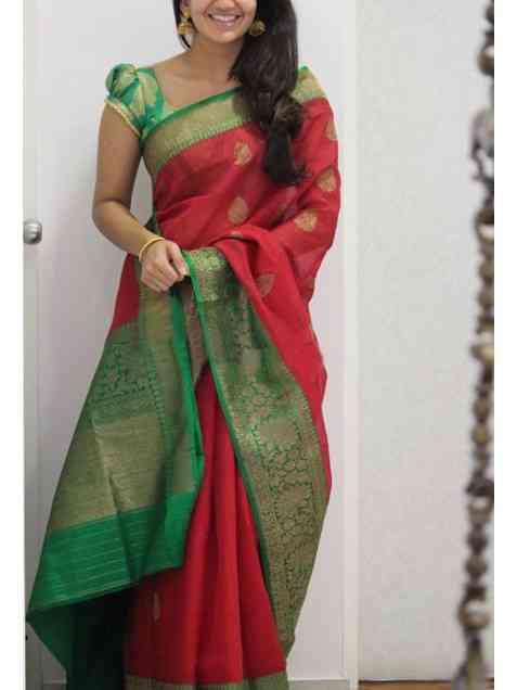"Artistic White Color Soft Silk Designer Sarees - SB1199  30"""