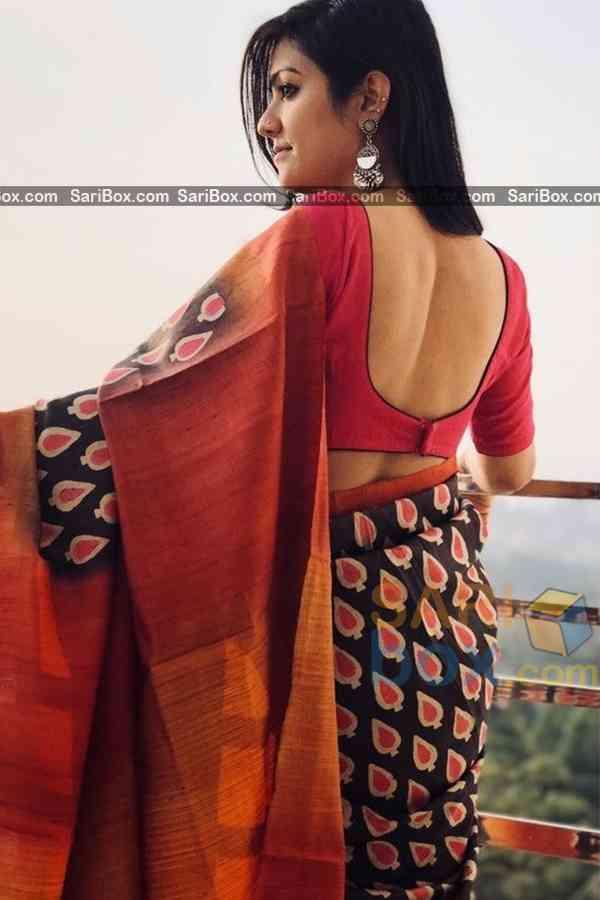"Pleasance Multi Designer Soft Silk Festive Wear Saree - CD319  30"""