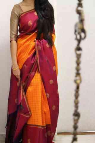 "Sizzling Multi Color Soft Silk Designer Sarees - SB1020  30"""