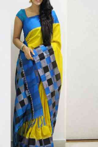 Admirable Yellow Color Soft Silk Designer Sarees - SB1026  30""