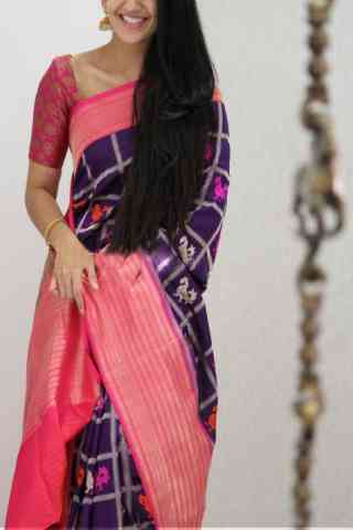 Flawless Pink Color Soft Silk Designer Sarees - SB1056  30""