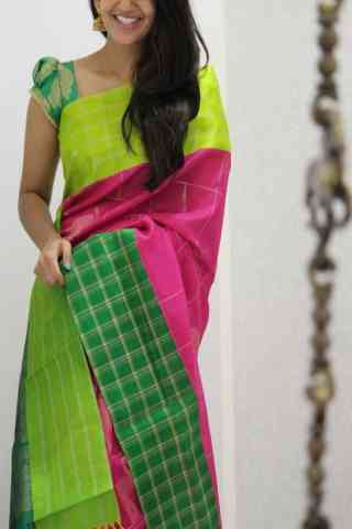 "Royal Multi Color Soft Silk Designer Sarees - SB1058  30"""