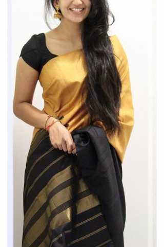 """Elegance Multi Color Soft Silk Designer Sarees - SB1127  30"""""""