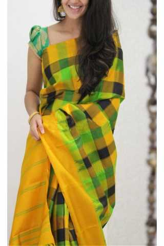 Forever Multi Color Soft Silk Designer Sarees - SB1143  30""