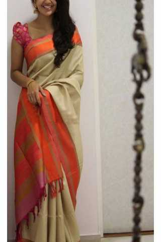 Unique Multi Color Soft Silk Saree - SB1174  30""