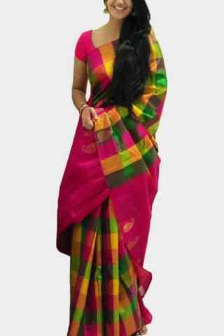 """Blooming Multi Color Soft Silk Designer Sarees-SB627  30"""""""