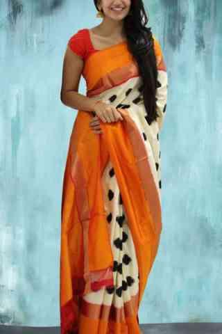 """Artistic Multi Color Soft Silk Designer Sarees-SB628  30"""""""