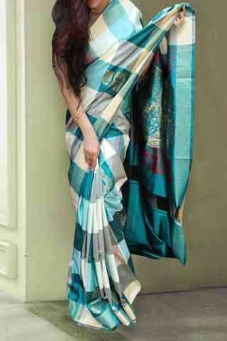 """Ethnic Multi Color Soft Silk Designer Sarees-SB630  30"""""""