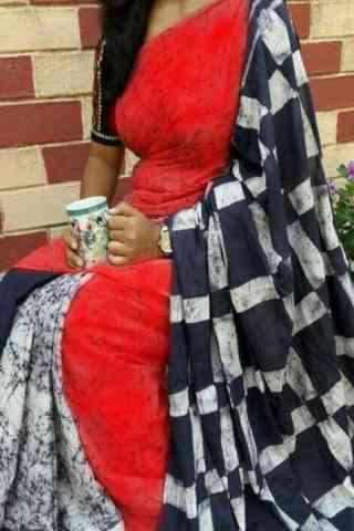 "Refreshing Red Color Soft Silk Designer Sarees-SB646  30"""