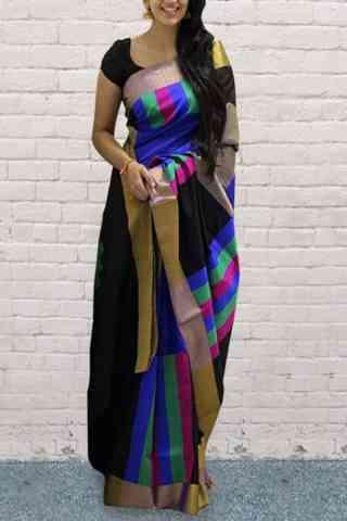 "Royal Multi Color Soft Silk Designer Sarees - SB680  30"""