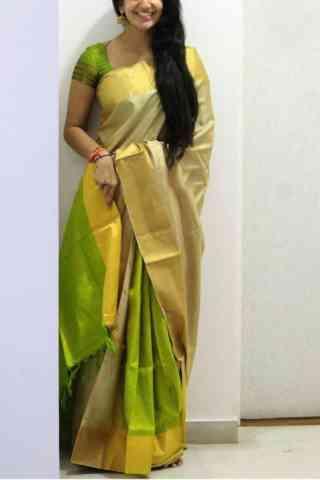 """Elegance Multi Color Soft Silk Designer Sarees - SB686  30"""""""