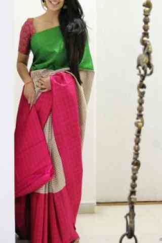 """Elegance Multi Color Soft Silk Designer Sarees - SB687  30"""""""