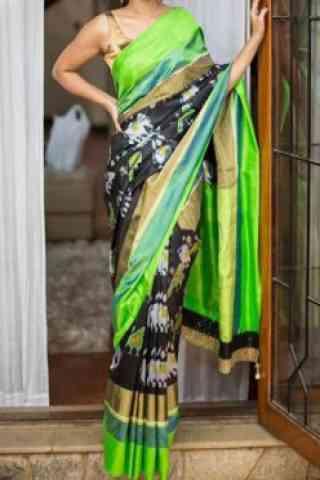 """Elegance Multi Color Soft Silk Designer Sarees-SB689  30"""""""