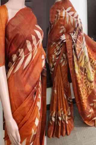 "Pleasurable Soft Silk Saree - SB730  30"""