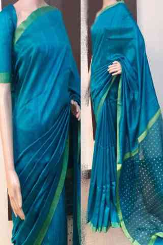 Exquisite Multi Color Soft Silk Saree - SB759  30""