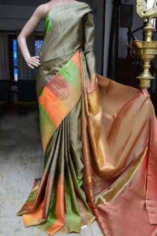 "Royal Multi Color Soft Silk Designer Sarees - SB884  30"""