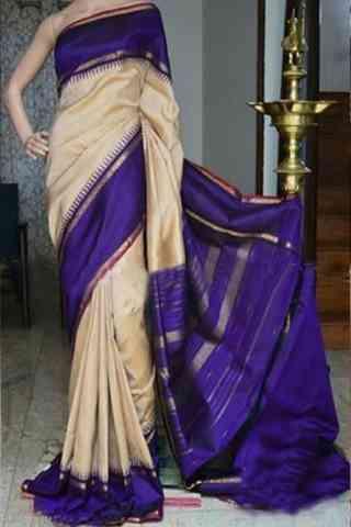 "Royal Multi Color Soft Silk Designer Sarees - SB885  30"""