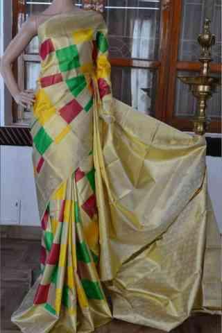 "Charming Multi Color Soft Silk Designer Sarees - SB889  30"""