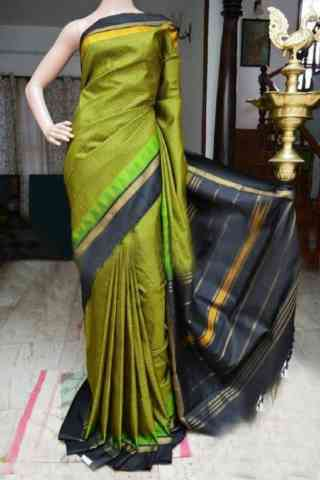 Charming Green Color Soft Silk Designer Sarees - SB891  30""