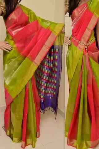 "Charming Multi Color Soft Silk Designer Sarees - SB895  30"""