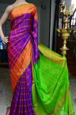 Glorious Multi Color Soft Silk Designer Sarees - SB902  30""