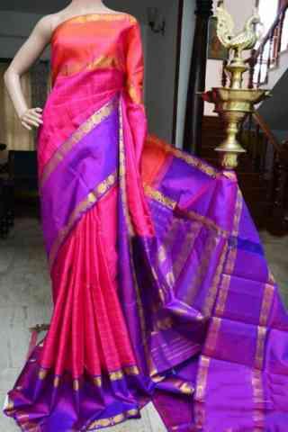 """Pretty Multi Color Soft Silk Designer Sarees - SB914  30"""""""