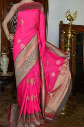 Pretty FashionablesareePink Color Soft Silk Designer Sarees - SB915  30""