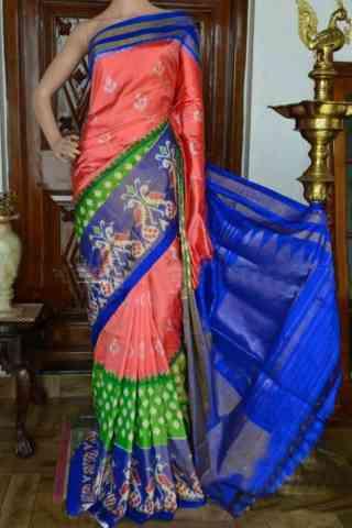"Dashing Multi Color Soft Silk Designer Sarees - SB917  30"""