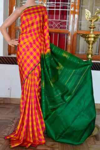 Glammrous Multi Color Soft Silk Designer Sarees - SB925  30""