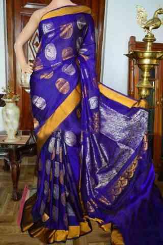 """Fashionista blue Color Soft Silk Designer Sarees - SB938  30"""""""