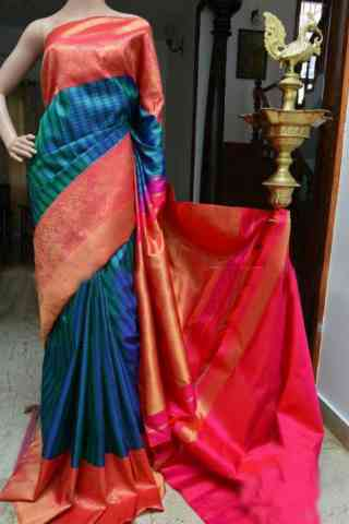 Fashionista Pink Color Soft Silk Designer Sarees - SB940  30""